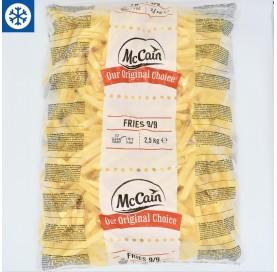 MCCAIN Potato Chips in 2,5 Kg Bag