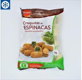 Croquetas de Espinacas Prielá en Bolsa de 1 Kg