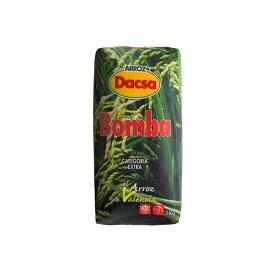 Bomba Rice Extra Category Dacsa 1 Kg