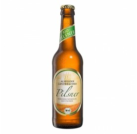 Bio-Bier Alsfelder Landbrauerei Pilsner Flasche 33 cl