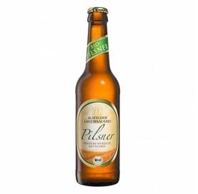Organic beer Alsfelder Landbrauerei Pilsner bottle 33 cl