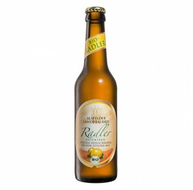 Organic Beer Alsfelder Landbrauerei Radler with Lemon 33 cl bottle