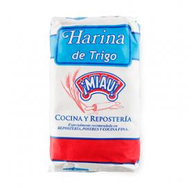 Harina de Trigo MIAU 1 Kg