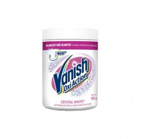 Vanish Oxi Action Bleach Free White Powder Stain Remover for White Clothes 450 g