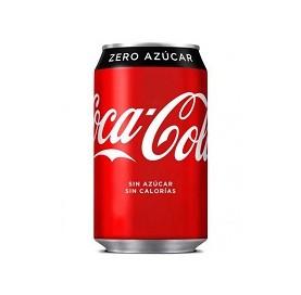 Coca Cola Zero Azúcar Lata 33 cl