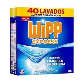 Pulverförmiges Waschmittel Wipp Express 2,4 Kg