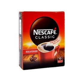 Decaffeinated Instant Coffee NESCAFÉ CLASSIC 10 Envelopes
