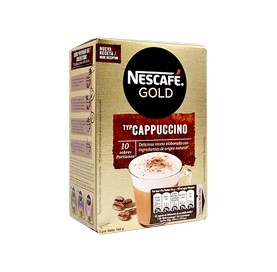 Instantkaffee Cappuccino NESCAFÉ Gold 10 Umschläge