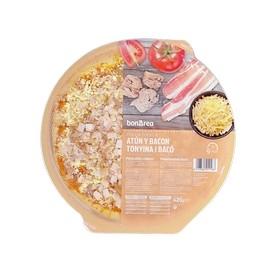 Pizza Fresca de Atún y Bacon BonÀrea 420 g