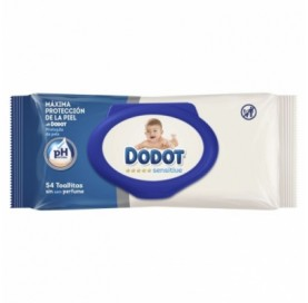 Dodot Dodot Sensitive Wipes Refill 54 Wipes