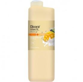 Shower Gel with Mango and Avocado + vitamin E Dicora Urban Fit 750 ml