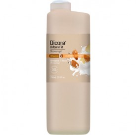 Shower Gel with Nuts and Almonds +Vitamin B Dicora Urban Fit 750 ml