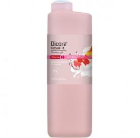 Duschgel mit Zitrusfrüchten und Pfirsich +Vitamin C Dicora Urban Fit 750 ml
