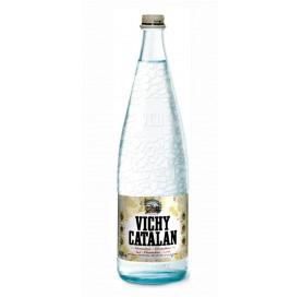 Natürliches Mineralwasser mit Kohlensäure Vichy Catalán 1 L