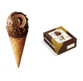 Kegel mit Schokoladeneis Alma de Chocolate La Menorquina Pack 4 Einheiten