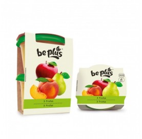 Be Plus Apple, Pear and Peach Puree + 6 Months 400 g
