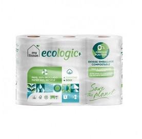 Papel Higiénico Reciclado My Tissue 6 Rollos