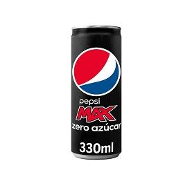Pepsi Max Zero Sugar Can 33cl
