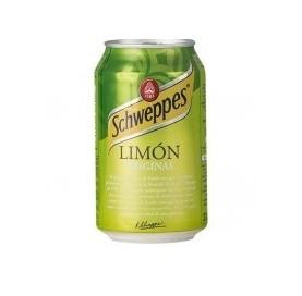 Schweppes Limón Lata 33 cl