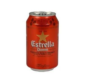 Cerveza Estrella Damm Lata 33 cl
