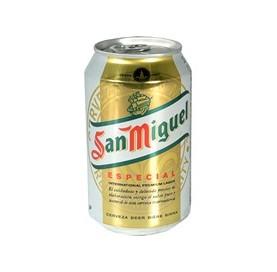 Cerveza San Miguel Especial Lata 33 cl