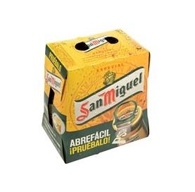 Cerveza San Miguel Especial Pack 4 x 33 cl